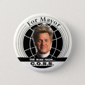 2009 NYC mayor Billy Talen Button