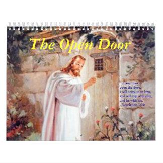 2009 Open Door Calendar - Customized