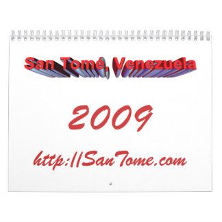 2009 San Tome' Calendar