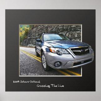 2009 Subaru Outback Poster