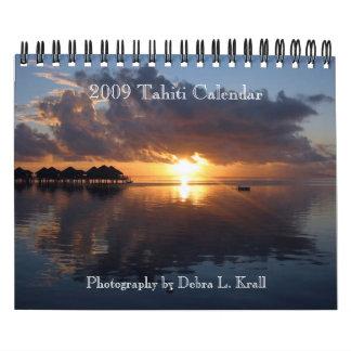2009 Tahiti Calendar - Small 7x11