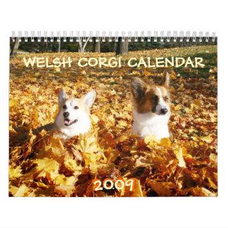 2009 Welsh Corgi Calendar