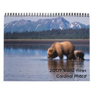 2009 World Views - Customized Calendars