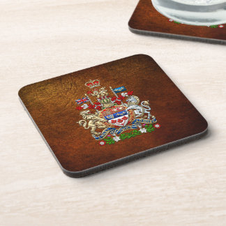 [200] Canada Coat of Arms [3D] Coaster