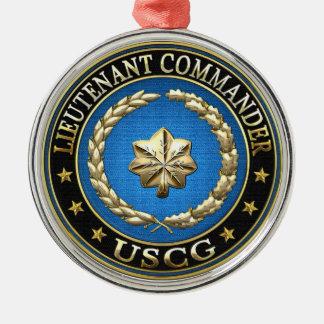 [200] CG: Lieutenant commander (LCDR) Metal Ornament