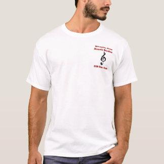 200-Day Club, White w/ Red T-Shirt