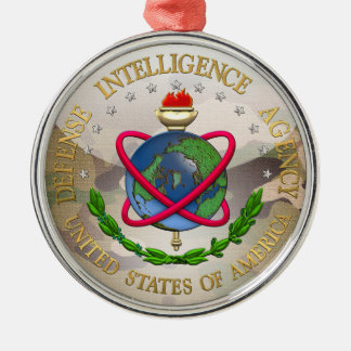 [200] Defense Intelligence Agency: DIA Special Edn Metal Ornament