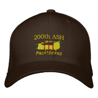 200th ASH Vietnam CH-47 Embroidered Hat