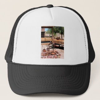 2010-06-26 C Las Vegas (189)abandoned_campsite2.JP Trucker Hat