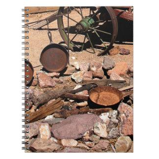 2010-06-26 C Las Vegas (189)abandoned_campsite.JPG Note Books