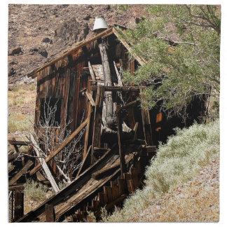 2010-06-26 C Las Vegas (210)desert_cabin.JPG Napkin