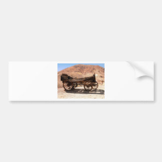 2010-06-28 C Calico Ghost Town (53)old_wagon Bumper Sticker