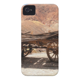 2010-06-28 C Calico Ghost Town (53)old_wagon iPhone 4 Cases