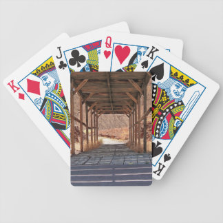 2010-06-28 C Calico Ghost Town (60)wooden_tunnel.j Bicycle Playing Cards