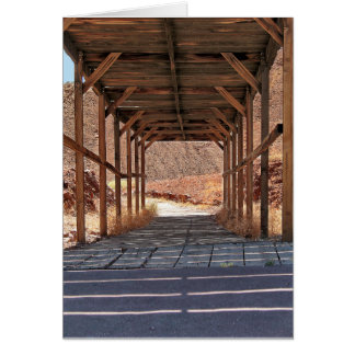 2010-06-28 C Calico Ghost Town (60)wooden_tunnel.j Card