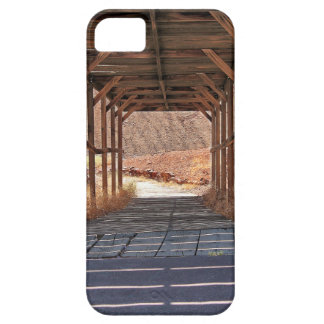 2010-06-28 C Calico Ghost Town (60)wooden_tunnel.j iPhone 5 Case