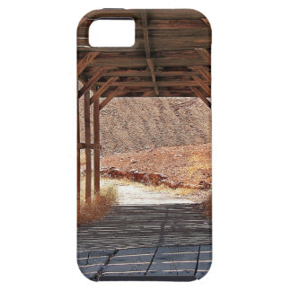 2010-06-28 C Calico Ghost Town (60)wooden_tunnel.j iPhone 5 Cover
