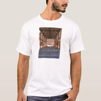 2010-06-28 C Calico Ghost Town (60)wooden_tunnel.j T-Shirt