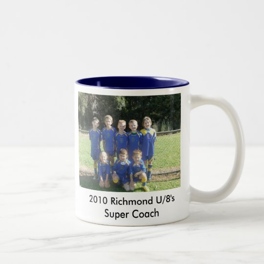 2010_081414-8-20100084, 2010 Richmond U/8's Sup... Two-Tone Coffee Mug