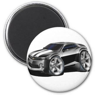2010-11 Camaro Black-White Car Magnet