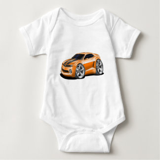 2010-11 Camaro Orange-Black Car Baby Bodysuit