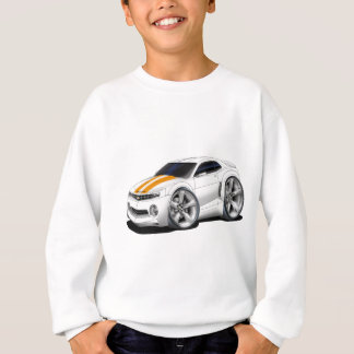 2010-11 Camaro White-Orange Car Sweatshirt