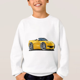 2010-12 Corvette Yellow Convertible Sweatshirt
