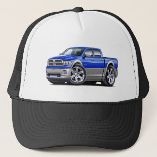 2010-12 Ram Dual Blue-Grey Truck Trucker Hat