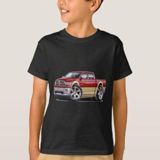 2010-12 Ram Dual Maroon-Tan Truck T-Shirt