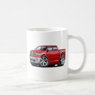 2010-12 Ram Dual Red Truck Classic White Coffee Mug