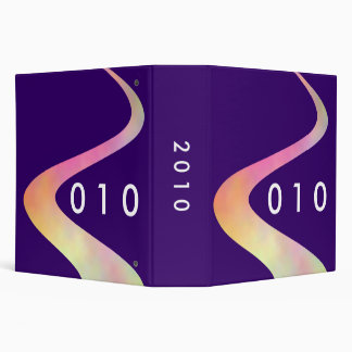 2010 (2in) on Deep Purple 330066 3 Ring Binder