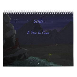 2010: A Year In Camis Wall Calendar