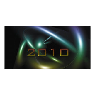 2010 Abstract Picture Card