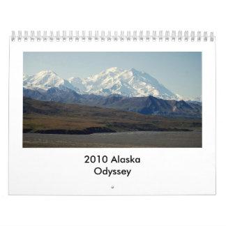 2010 Alaska Odyssey Wall Calendars