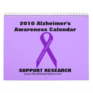 2010 Alzheimer's Awareness Calendar... Calendar