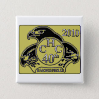 2010 Bakersfield 2 Inch Square Button