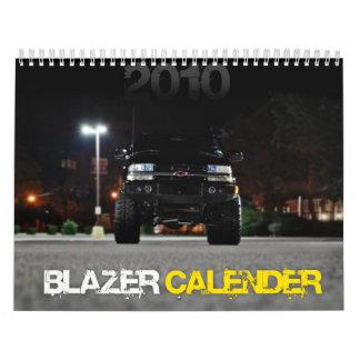 2010 Blazer Calender Calendar