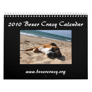 2010 Boxer Crazy Calendar