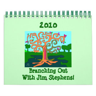 2010 Branching Out! Wall Calendar
