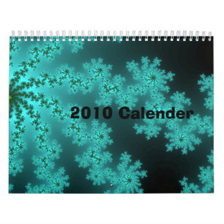 2010 Calender - Made With Abstract Images Calendars