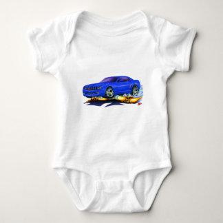 2010 Camaro Blue Car Baby Bodysuit