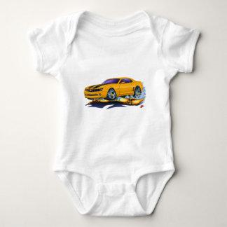 2010 Camaro Orange-Black Car Baby Bodysuit