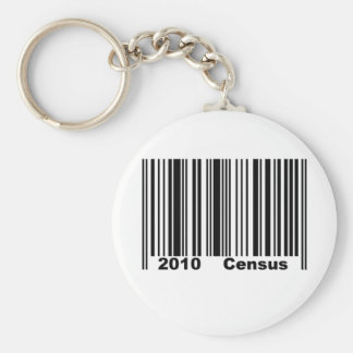 2010 Census Keychain