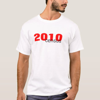 2010, census T-Shirt