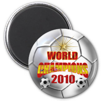 2010 Champions of the world spain 2 Inch Round Magnet