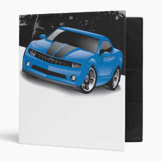 2010 Chevrolet Camaro Binder (Blue)