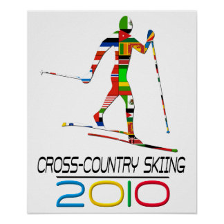 2010: Cross Country Skiing Poster