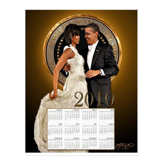 2010 Dance Calendar Postcard