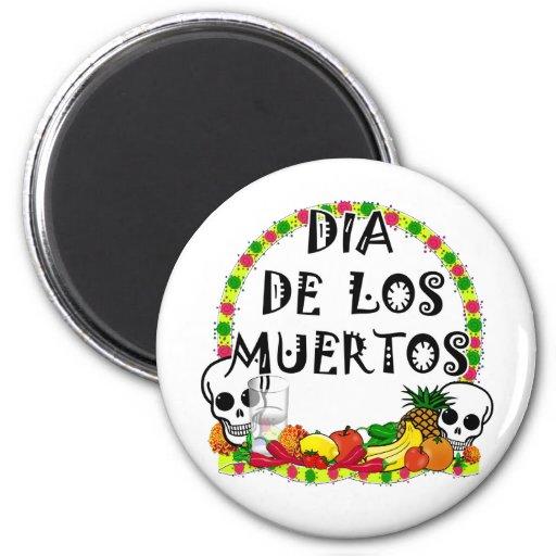 2010 Dia De Los Muertos Fridge Magnet