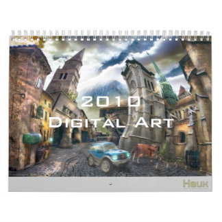 2010 Digital Surreal & Fantasy Art - Wall Calendar